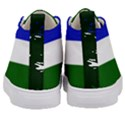 Flag of Cascadia Kid s Mid-Top Canvas Sneakers View4