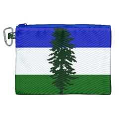 Flag Of Cascadia Canvas Cosmetic Bag (xl) by abbeyz71