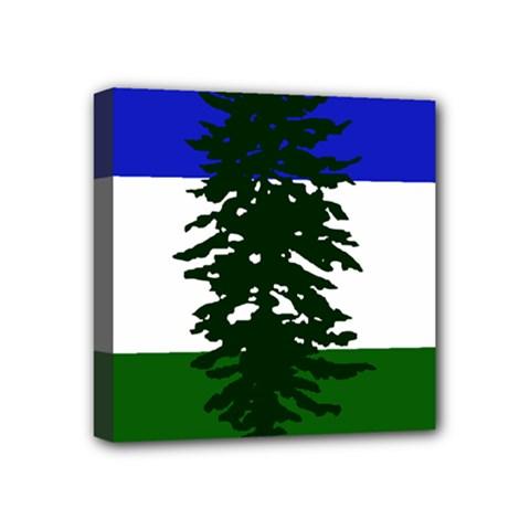 Flag Of Cascadia Mini Canvas 4  X 4  by abbeyz71