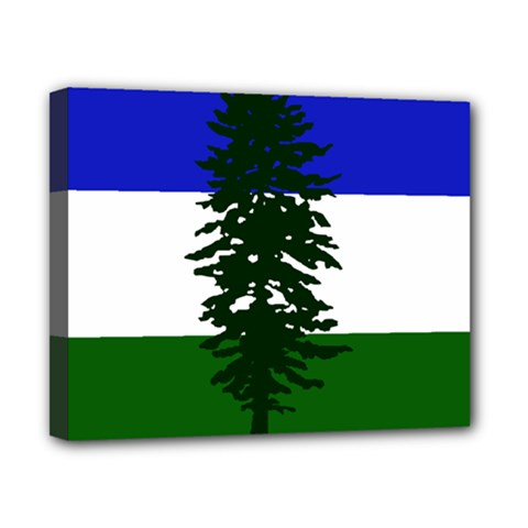 Flag Of Cascadia Canvas 10  X 8  by abbeyz71
