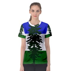Flag Of Cascadia Women s Sport Mesh Tee by abbeyz71