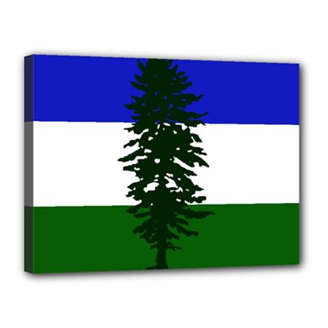 Flag Of Cascadia Canvas 16  X 12  by abbeyz71