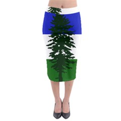 Flag Of Cascadia Midi Pencil Skirt by abbeyz71