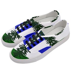 Flag Of Cascadia Women s Classic Low Top Sneakers by abbeyz71
