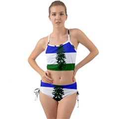 Flag Of Cascadia Mini Tank Bikini Set by abbeyz71