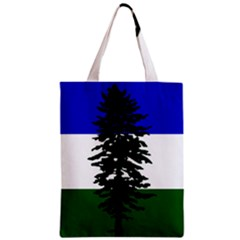 Flag Of Cascadia Zipper Classic Tote Bag by abbeyz71