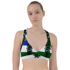 Flag Of Cascadia Sweetheart Sports Bra by abbeyz71