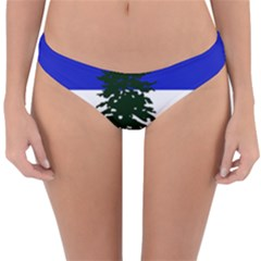 Flag Of Cascadia Reversible Hipster Bikini Bottoms by abbeyz71