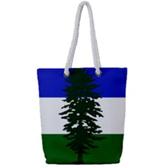 Flag Of Cascadia Full Print Rope Handle Tote (small) by abbeyz71