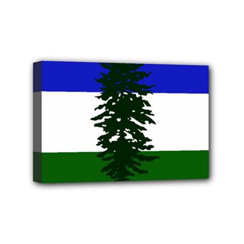 Flag Of Cascadia Mini Canvas 6  X 4  by abbeyz71