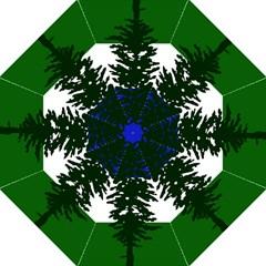 Flag Of Cascadia Hook Handle Umbrellas (medium) by abbeyz71