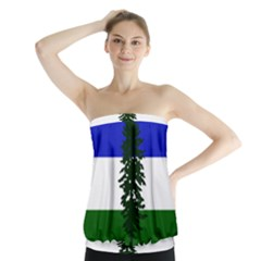 Flag Of Cascadia Strapless Top by abbeyz71