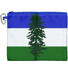 Flag Of Cascadia Canvas Cosmetic Bag (xxxl) by abbeyz71