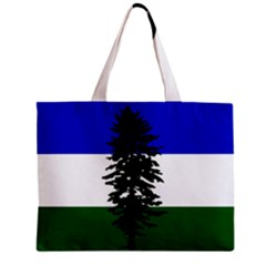 Flag 0f Cascadia Zipper Mini Tote Bag by abbeyz71