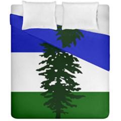 Flag 0f Cascadia Duvet Cover Double Side (california King Size) by abbeyz71