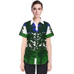 Flag 0f Cascadia Women s Short Sleeve Shirt by abbeyz71