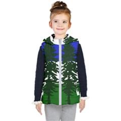 Flag 0f Cascadia Kid s Puffer Vest