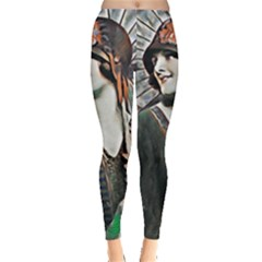 Lady Of Summer 1920 Art Deco Leggings