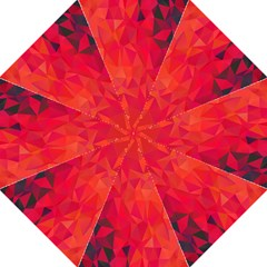 Triangle Geometric Mosaic Pattern Golf Umbrellas by Nexatart