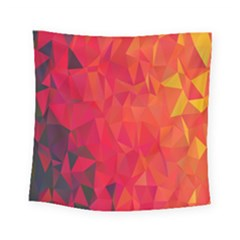 Triangle Geometric Mosaic Pattern Square Tapestry (small)