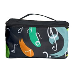 Repetition Seamless Child Sketch Cosmetic Storage Case