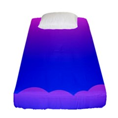 Abstract Bright Color Fitted Sheet (single Size)