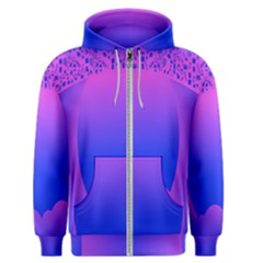 Abstract Bright Color Men s Zipper Hoodie