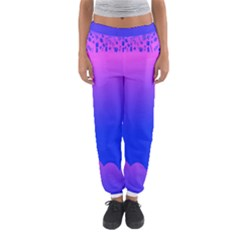 Abstract Bright Color Women s Jogger Sweatpants