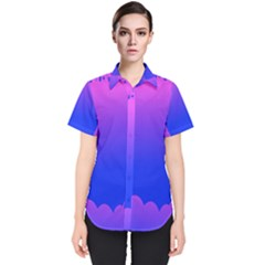 Abstract Bright Color Women s Short Sleeve Shirt by Nexatart