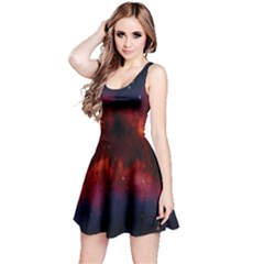 Astronomy Space Galaxy Fog Reversible Sleeveless Dress by Nexatart