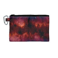 Astronomy Space Galaxy Fog Canvas Cosmetic Bag (medium) by Nexatart