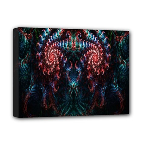 Abstract Background Texture Pattern Deluxe Canvas 16  X 12