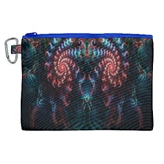 Abstract Background Texture Pattern Canvas Cosmetic Bag (xl) by Nexatart