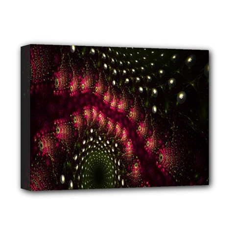 Background Texture Pattern Deluxe Canvas 16  X 12   by Nexatart