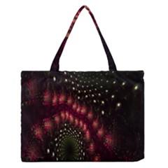 Background Texture Pattern Zipper Medium Tote Bag