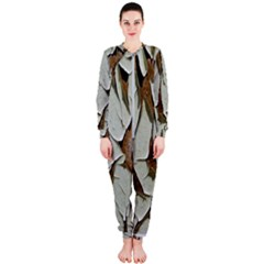 Dry Nature Pattern Background Onepiece Jumpsuit (ladies)