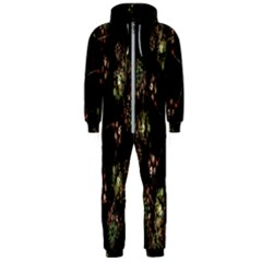 Fractal Art Digital Art Hooded Jumpsuit (men)