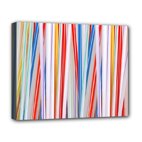 Background Decorate Colors Deluxe Canvas 20  X 16   by Nexatart
