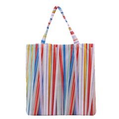 Background Decorate Colors Grocery Tote Bag