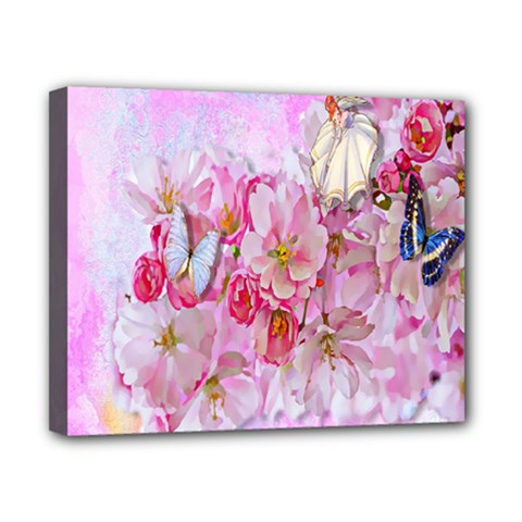 Nice Nature Flowers Plant Ornament Canvas 10  X 8