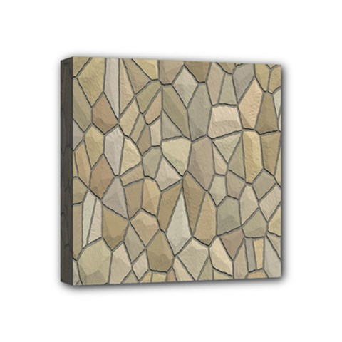 Tile Steinplatte Texture Mini Canvas 4  X 4