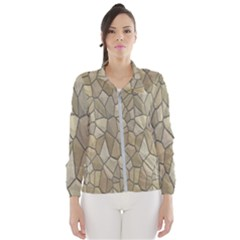 Tile Steinplatte Texture Wind Breaker (women)