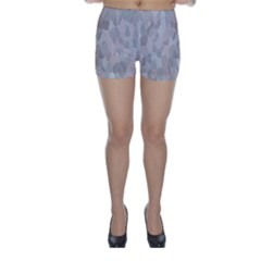 Pattern Mosaic Form Geometric Skinny Shorts