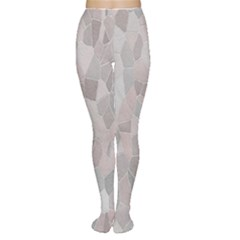 Pattern Mosaic Form Geometric Women s Tights