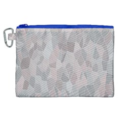 Pattern Mosaic Form Geometric Canvas Cosmetic Bag (xl) by Nexatart