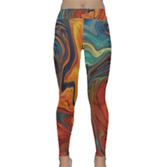 Creativity Abstract Art Classic Yoga Leggings