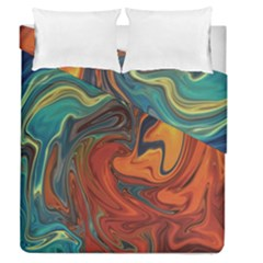 Creativity Abstract Art Duvet Cover Double Side (queen Size)