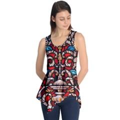 Decoration Art Pattern Ornate Sleeveless Tunic