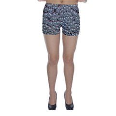 Droplets Pane Drops Of Water Skinny Shorts