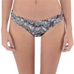 Droplets Pane Drops Of Water Reversible Hipster Bikini Bottoms